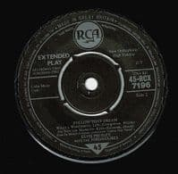 ELVIS PRESLEY Follow That Dream EP Vinyl Record 7 Inch RCA